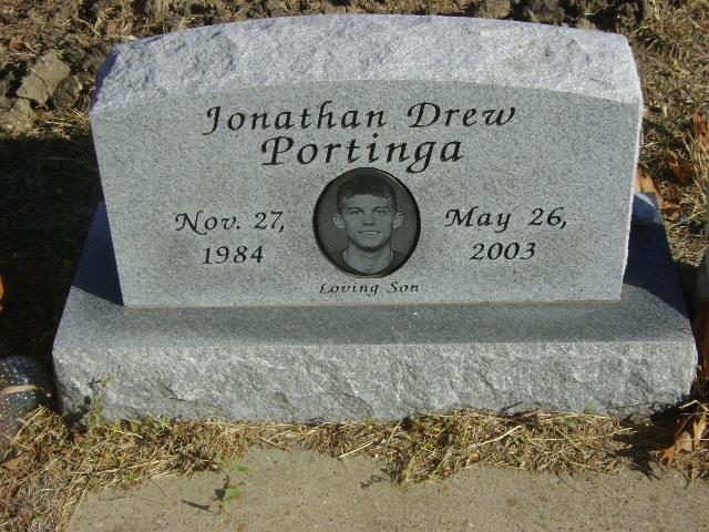 Portinga, Jonathan Drew Nov 27 1984