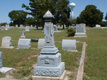 Sanger Cemetey Denton County By Gloria B Mayfield